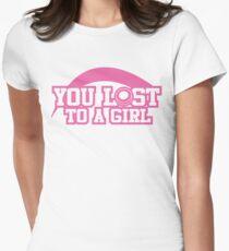 Women's hockey T-shirt Womens Fitted T-Shirt