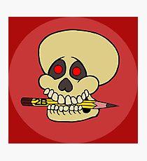 Yorick's Skull Photographic Print