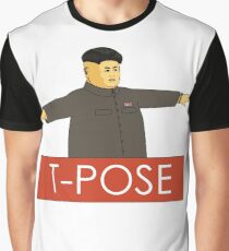 T Pose Graphic T-Shirt
