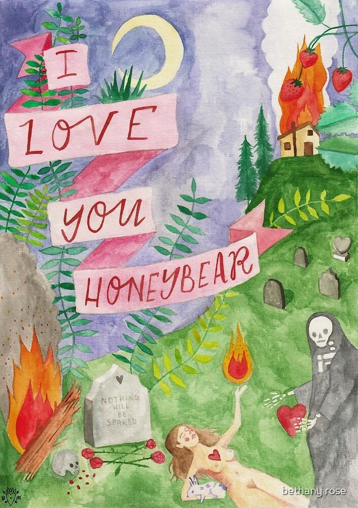 i love you honeybear by bethany rose
