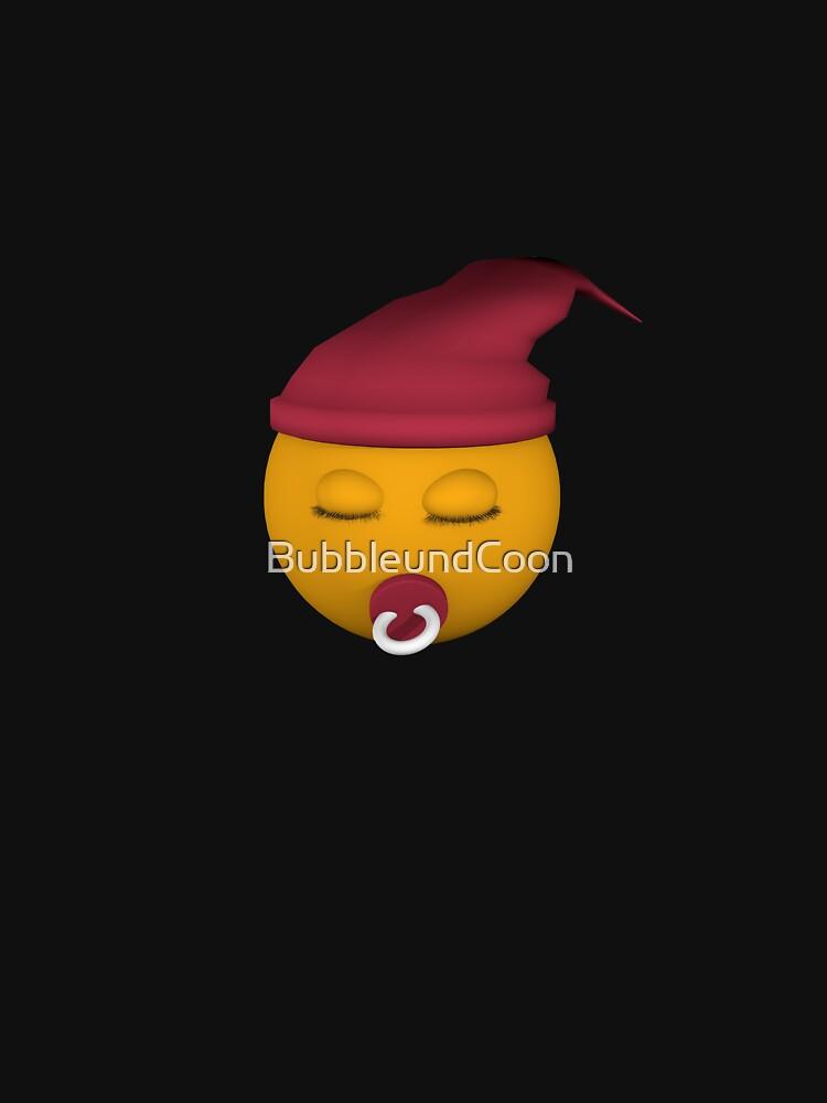 Emoticon mit Schnuller von BubbleundCoon