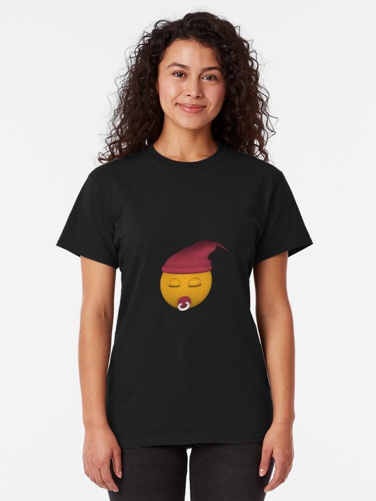 Alternative Ansicht von Emoticon mit Schnuller Classic T-Shirt