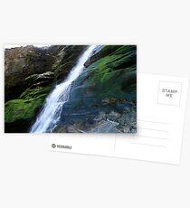 Waterfall tintagel Postcards