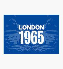 LONDON 1965 (Version 1) Photographic Print