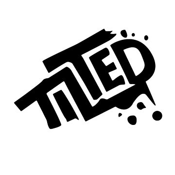 Tilted Towers Graffiti Logo White Fortnite Battle Royale by trndsttrz