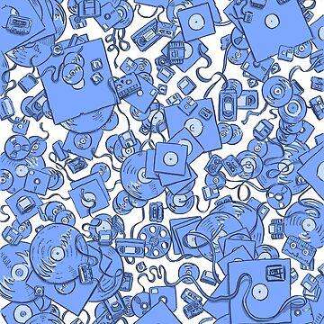 Technology! - Blue by matjackson