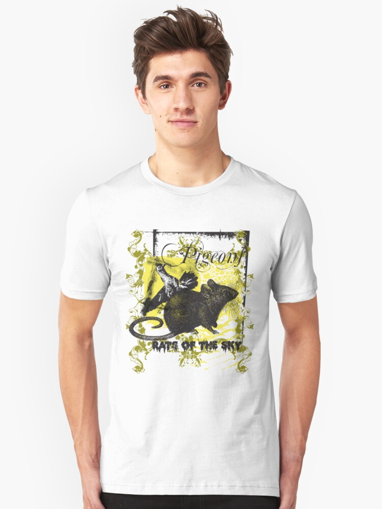 Pigeons-rats of the sky Unisex T-Shirt Front