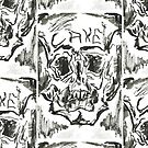 Skull series 1 - u by mwesselcreative