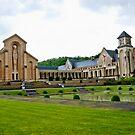 Abbey Notre-Dame d'Orval - Belgium by Alison Cornford-Matheson
