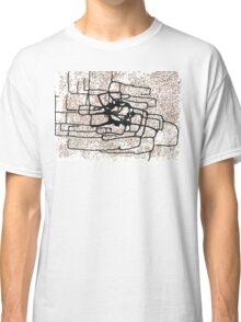 original mixed media, abstract art - modern monocle dot } Classic T-Shirt