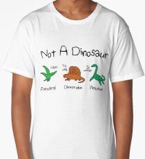 Not A Dinosaur (Pterodactyl, Dimetrodon, Plesiosaur) Long T-Shirt