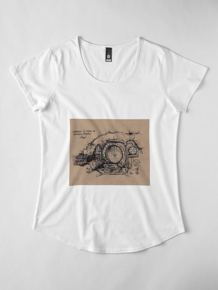 Alternative Ansicht von Das Auenland Premium Rundhals-Shirt