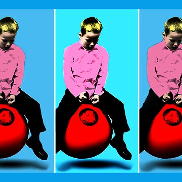 Space Hopper Pop Art by Lordy99