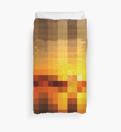 Nature Pixels No 19  Duvet Cover