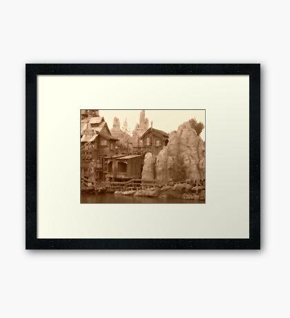 Big Thunder Mesa Framed Print
