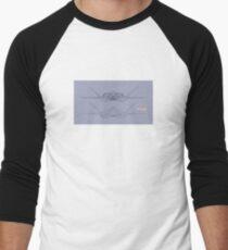DWGBPF001 Men's Baseball ¾ T-Shirt