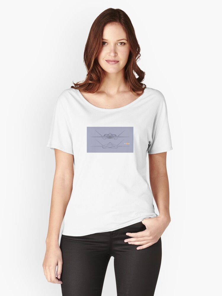 DWGBPF001 Women's Relaxed Fit T-Shirt Front
