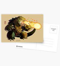 Gamera Postcards