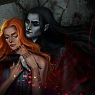 Hades and Persephone  by Salome Totladze