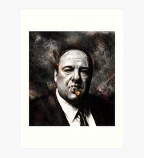 The Sopranos - Tony Soprano  Art Print