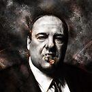 The Sopranos - Tony Soprano  by p1xer