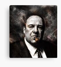 The Sopranos - Tony Soprano  Canvas Print