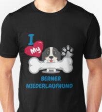 Berner Niederlaufhund Unisex T-Shirt