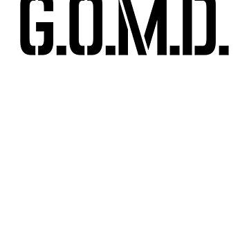 GOMD Art Music Hipster Lyrics by ShieldApparel