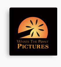 Whats the Point Pictures Canvas Print