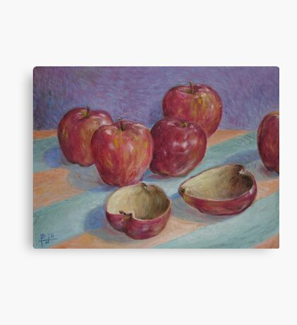 Empty Fruit Canvas Print