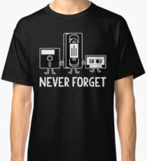 Never Forget Floppy Disk Classic T-Shirt