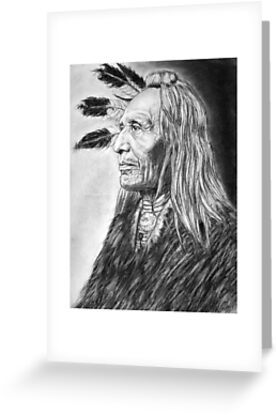 American indian greeting cards by benjamin ordaz redbubble american indian by benjamin ordaz m4hsunfo