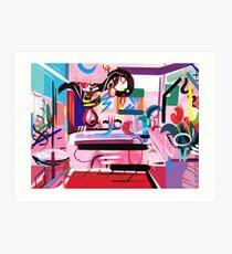 Pink Interior II Art Print