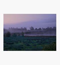 Early Morning Mist At Framlingham Castle Photographic Print