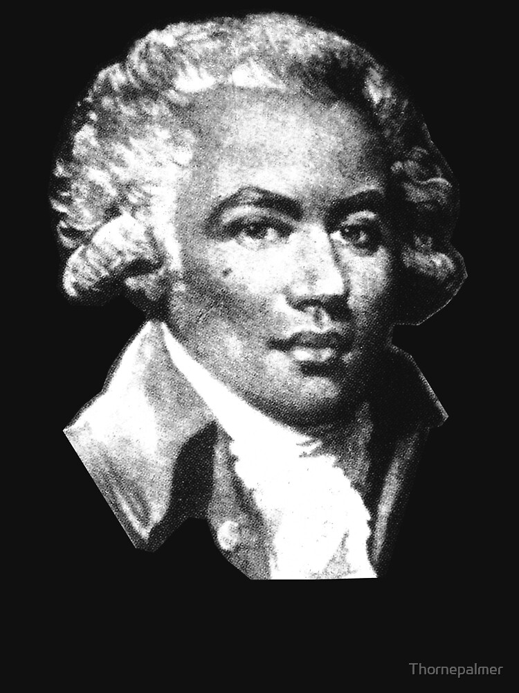Chevalier de Saint-Georges - the First Black Composer by Thornepalmer