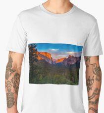 Sunset Yosemite Tunnel View Men's Premium T-Shirt