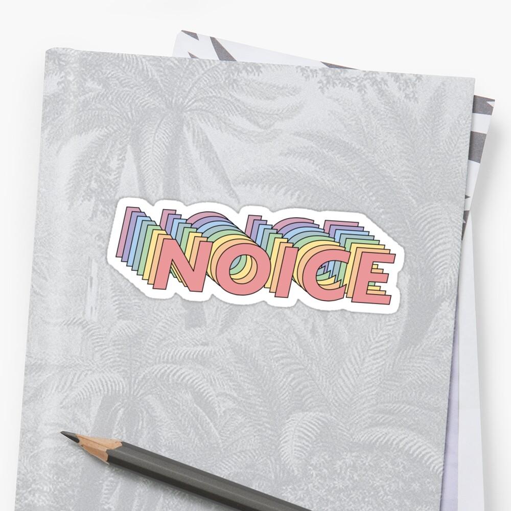 Brooklyn Neun Neun Noice Sticker