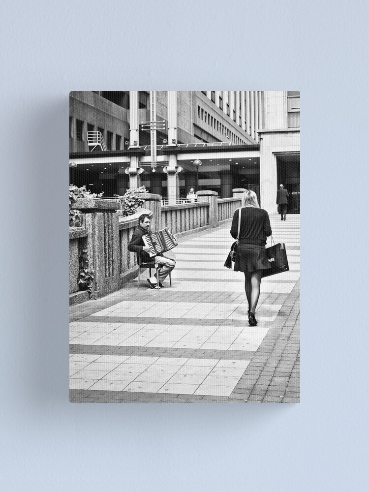 Alternate view of Shopping Begging Canvas Print