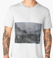 Yosemite Valley Early Morning Clearing Storm Men's Premium T-Shirt