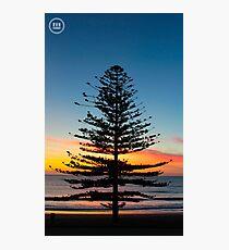 Beautiful Sunrise In Torquay, Australia Photographic Print