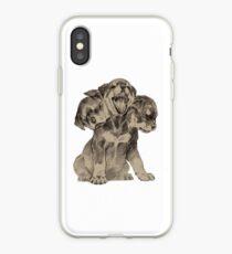 Cerberus puppy iPhone Case
