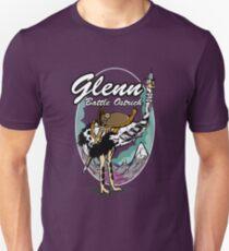 Glenn: Battle Ostrich Unisex T-Shirt