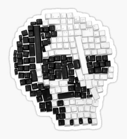 Key Skull Sticker