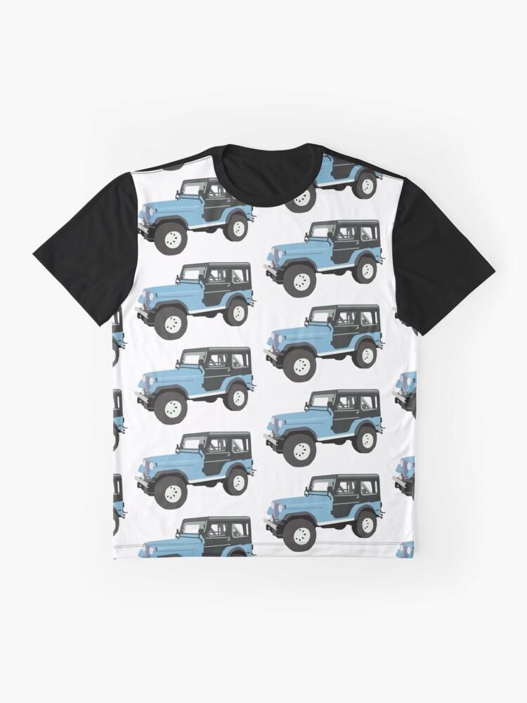 Alternative Ansicht von Roscoe der Jeep! Grafik T-Shirt