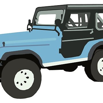 Roscoe the Jeep! by NemJames
