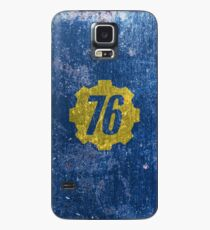 Vault 76 - Distressed Case/Skin for Samsung Galaxy