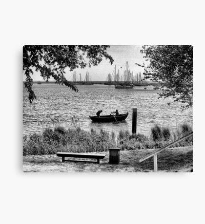 Row, row, row, your Boat Canvas Print