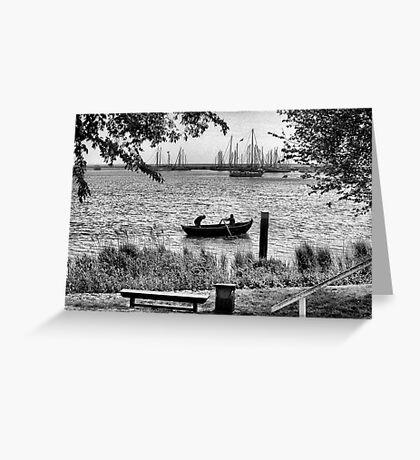 Row, row, row, your Boat Greeting Card