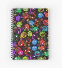 Bacterial Allergy Outbreak Spiral Notebook