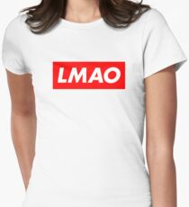 Supreme LMAO Design Women's Fitted T-Shirt